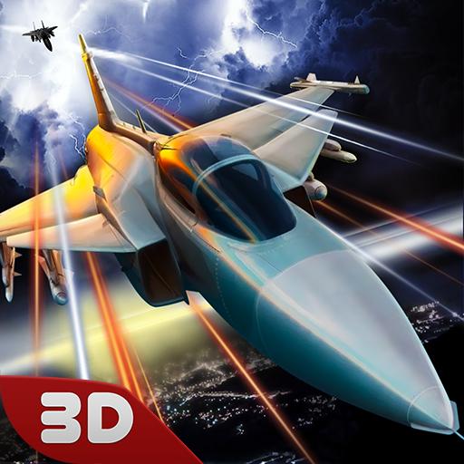 Aerial Combat Sea Fleet Battle Flying Ace: Pilot Airplane Simulator Academy Game ()