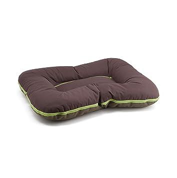 Arnold Pillow Bed L Brown/Aceitunas caseta para Perro Acolchada para Cuna de colchón futón Perro Mediana y Grande Talla Comfy: Amazon.es: Hogar