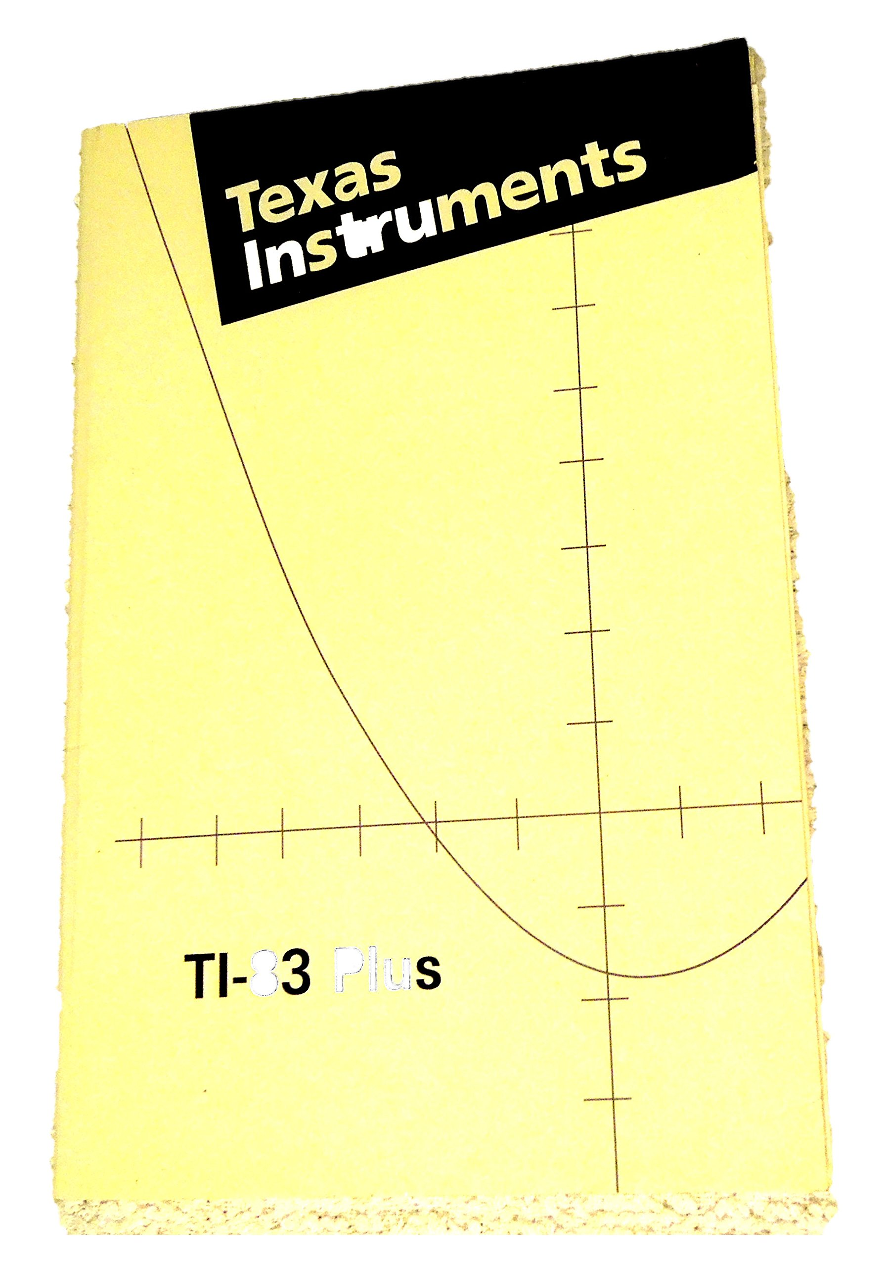 Ti-83 plus instruction manual: amazon. Com: books.