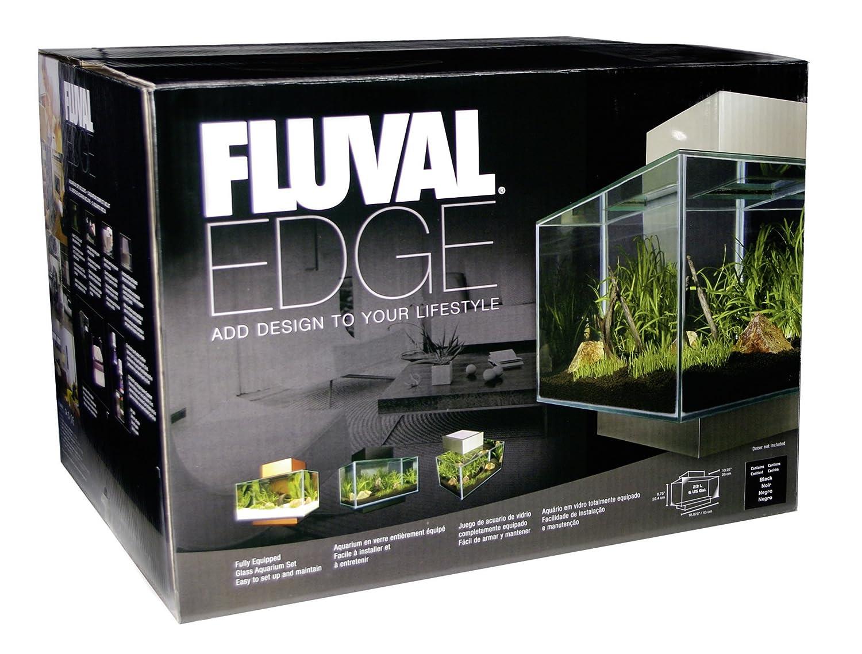 Design Aquarium Kast : Amazon fluval edge aquarium set pewter gallon pet supplies