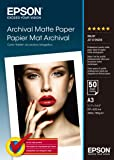 Epson S041344 MATT-Paper Larg.durab 50 A3 29,7 x 42 cm (A3) Carta fotografica