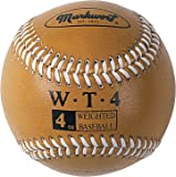 Markwort Weighted 9-Inch Baseballs-Leather Cover (Individually Boxed)