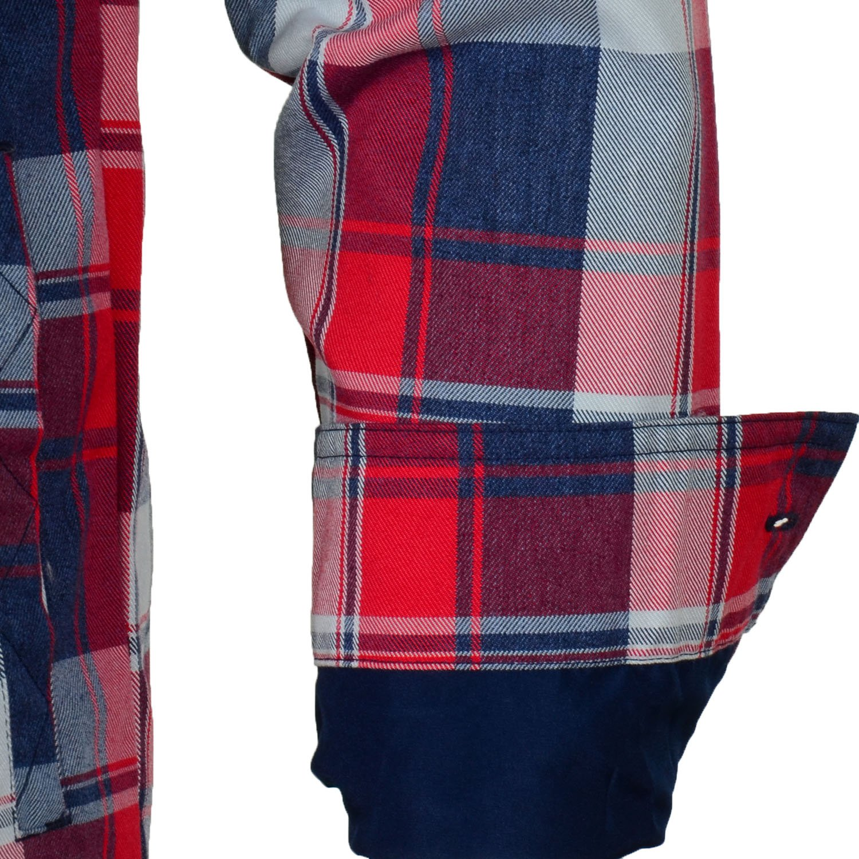 adidas Originals Men's Snow DWR Long Sleeve Flannel Check Shirt