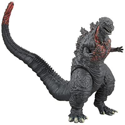 Bandai Movie Monster Series Godzilla 2016 Vinyl Figure (Japan Import): Toys & Games