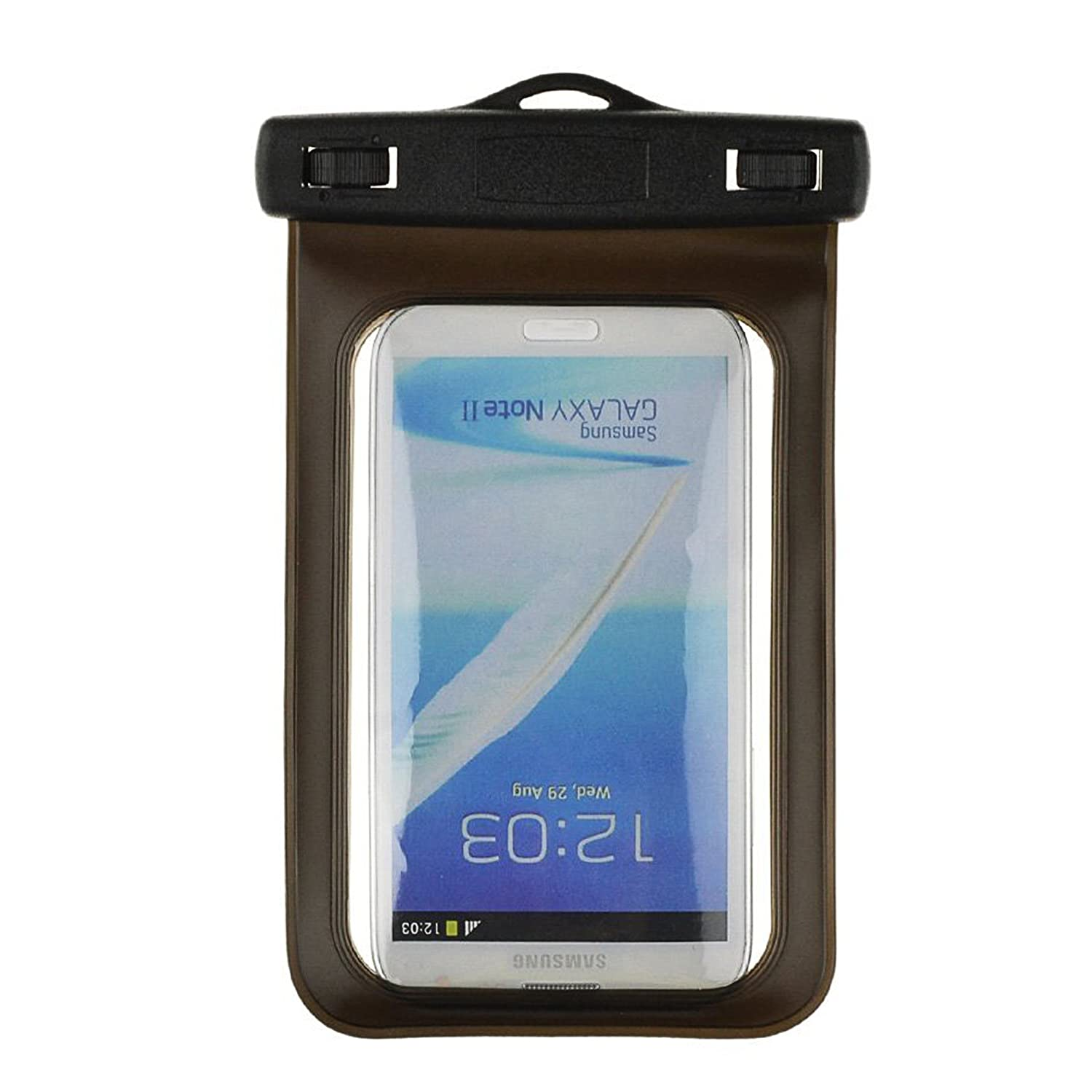 classic fit 648d1 e4782 SumacLife Waterproof Bag Dry Pouch Case for Sony Xperia Z5 Premium / C5  Ultra / T2 Ultra Smartphones, Black