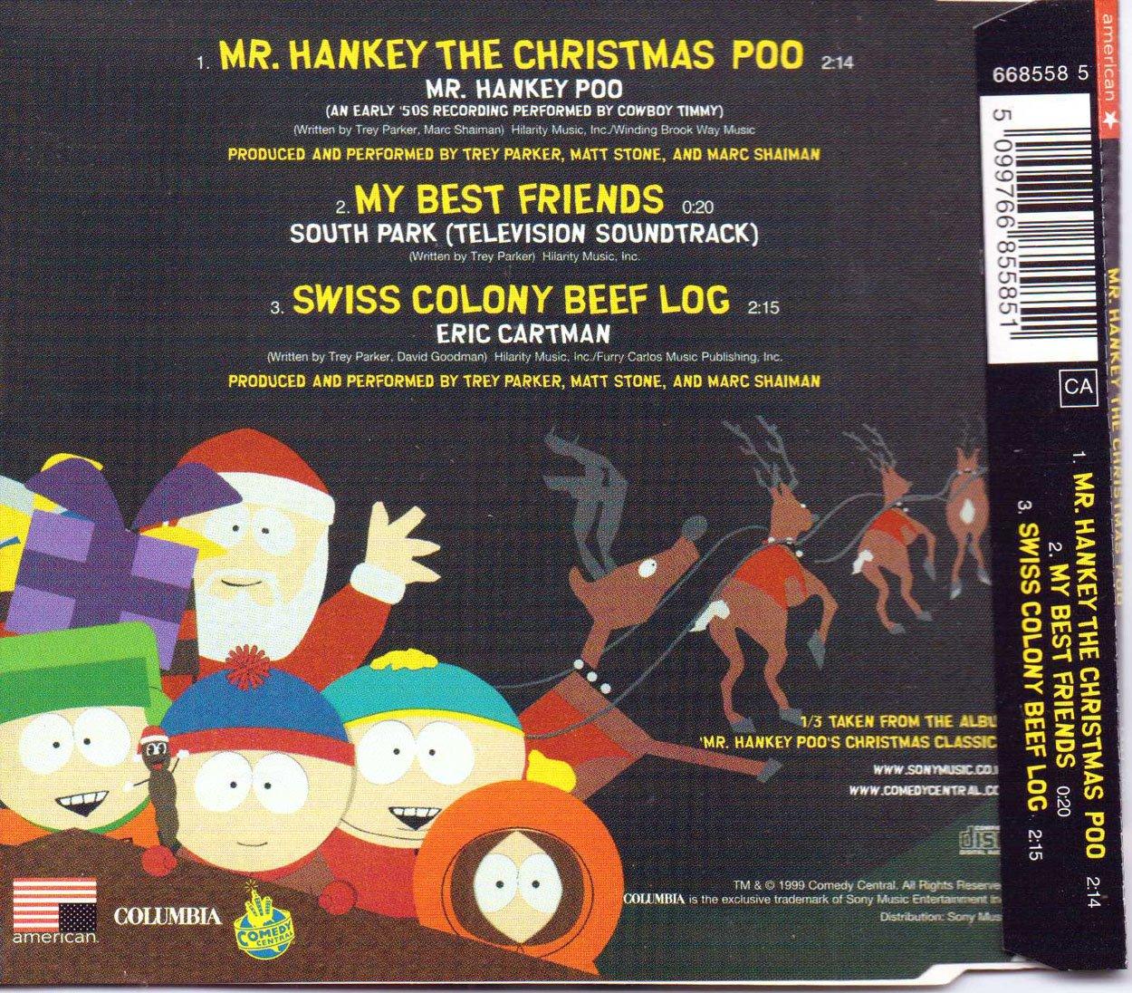 Mr. Hankey - Mr. Hankey\'s Christmas Poo #2 - Amazon.com Music