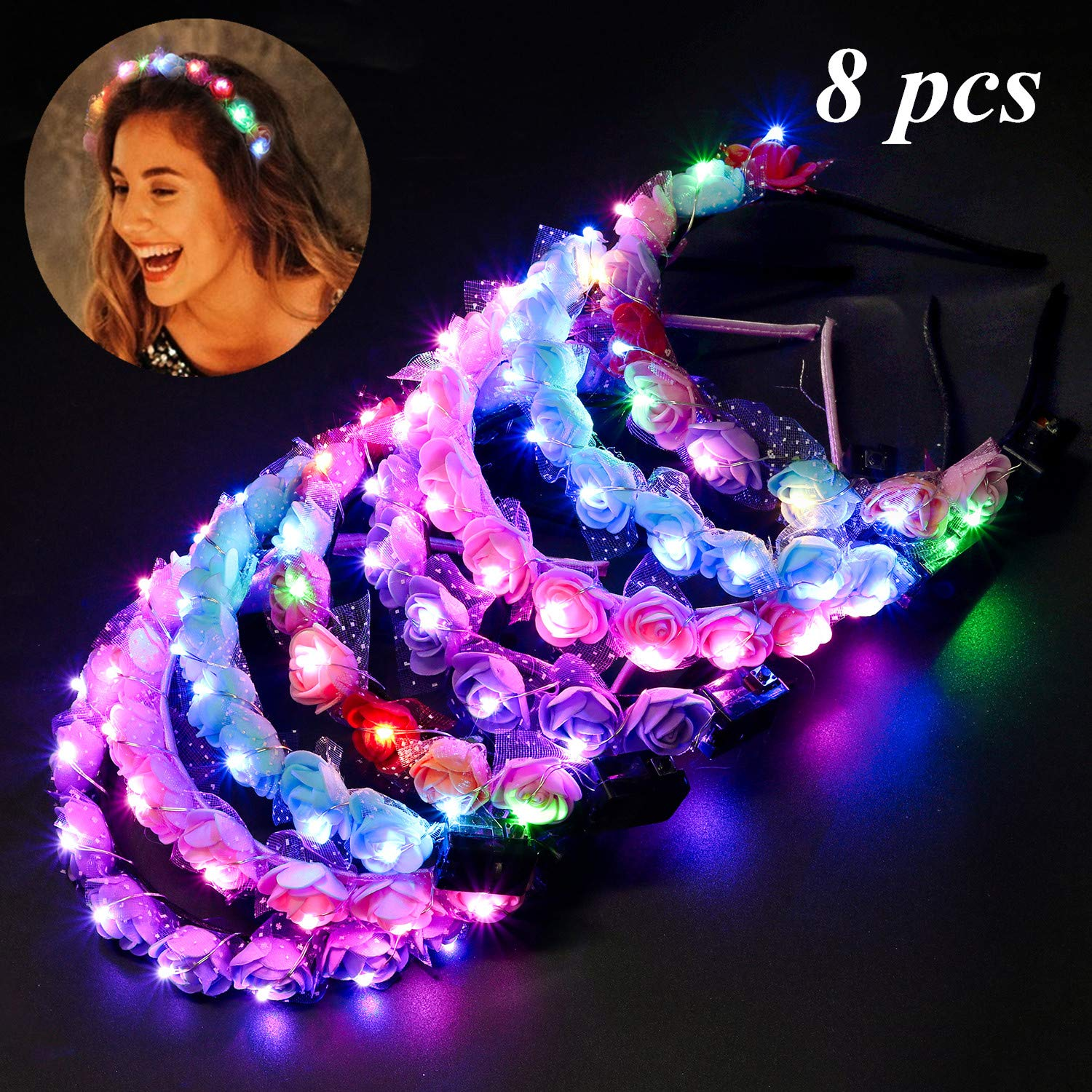 LED headbands