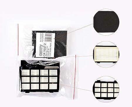 Camry CR 7037.2 - Filtro HEPA + filtro de salida de aire compatible con modelo CR7037 - Aspirador -