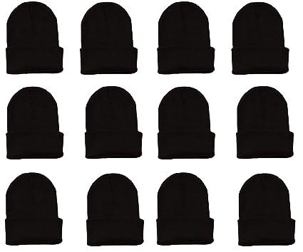 Amazon.com  OPT Brand. Wholesale 12 Pieces Kids Boys Girls Knit Long ... 8012668abb6