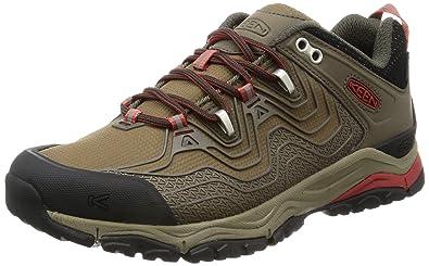 Womens Aphlex Wp Low Rise Hiking Shoes, Black, 9.5 M US Keen