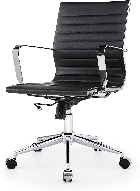 MEELANO Office Chair, Black
