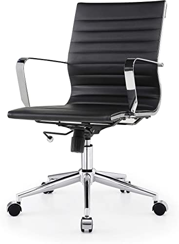 MEELANO Office Chair, Black