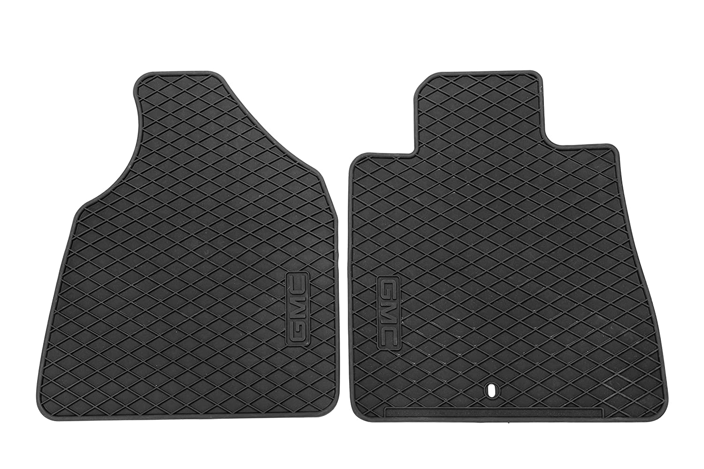 Rubber floor mats gmc acadia - Amazon Com Gm Accessories 22890387 Front All Weather Floor Mats In Ebony With Gmc Logo Automotive