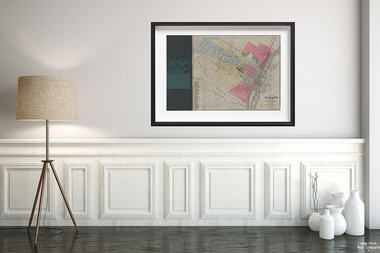 Peachy Amazon Com 1889 Map 448 Broadway Albany N Y City Albany Download Free Architecture Designs Momecebritishbridgeorg