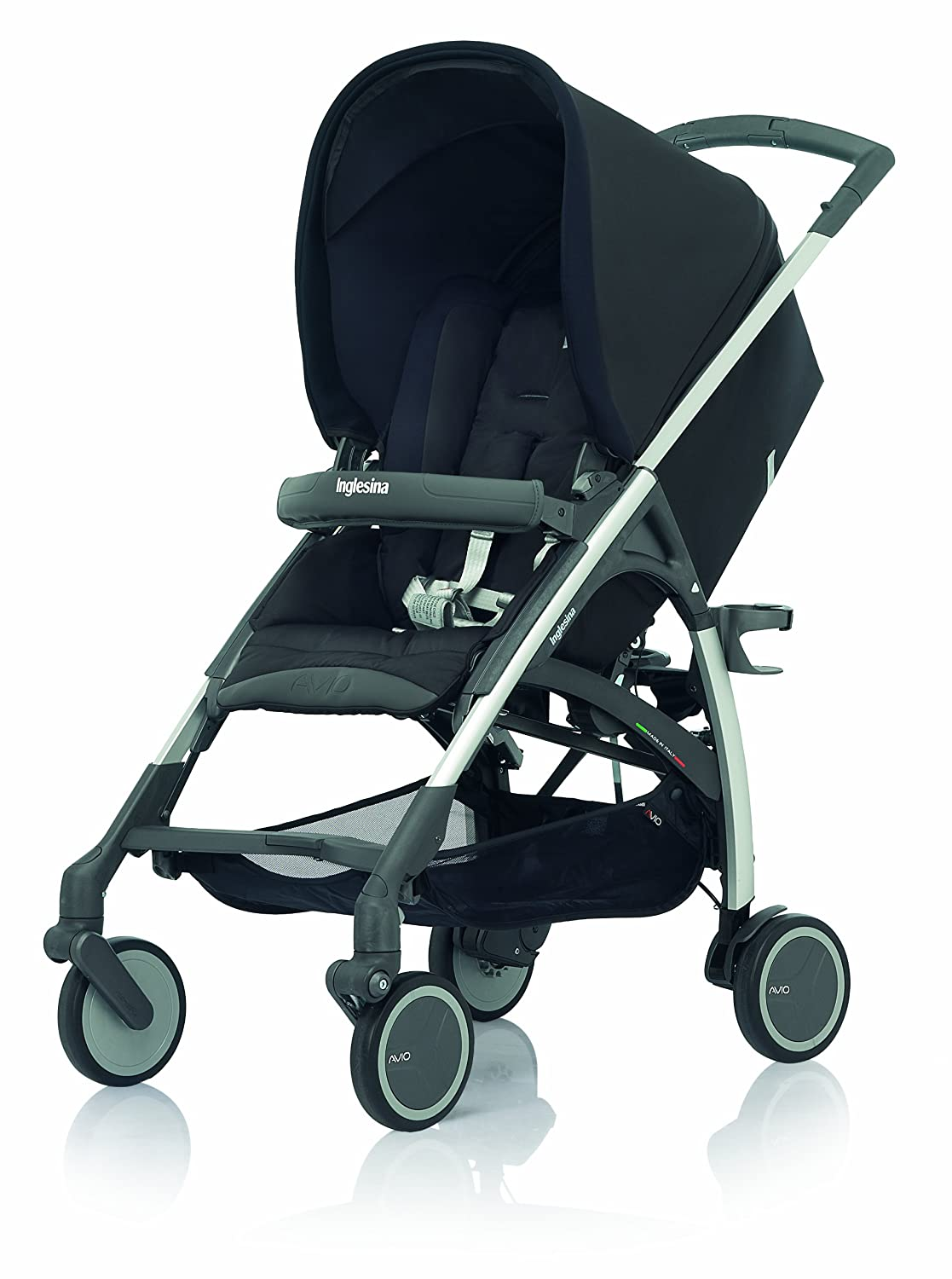 Inglesina 2013 Avio Stroller, Pirate Black Older Version Discontinued by Manufacturer Discontinued by Manufacturer
