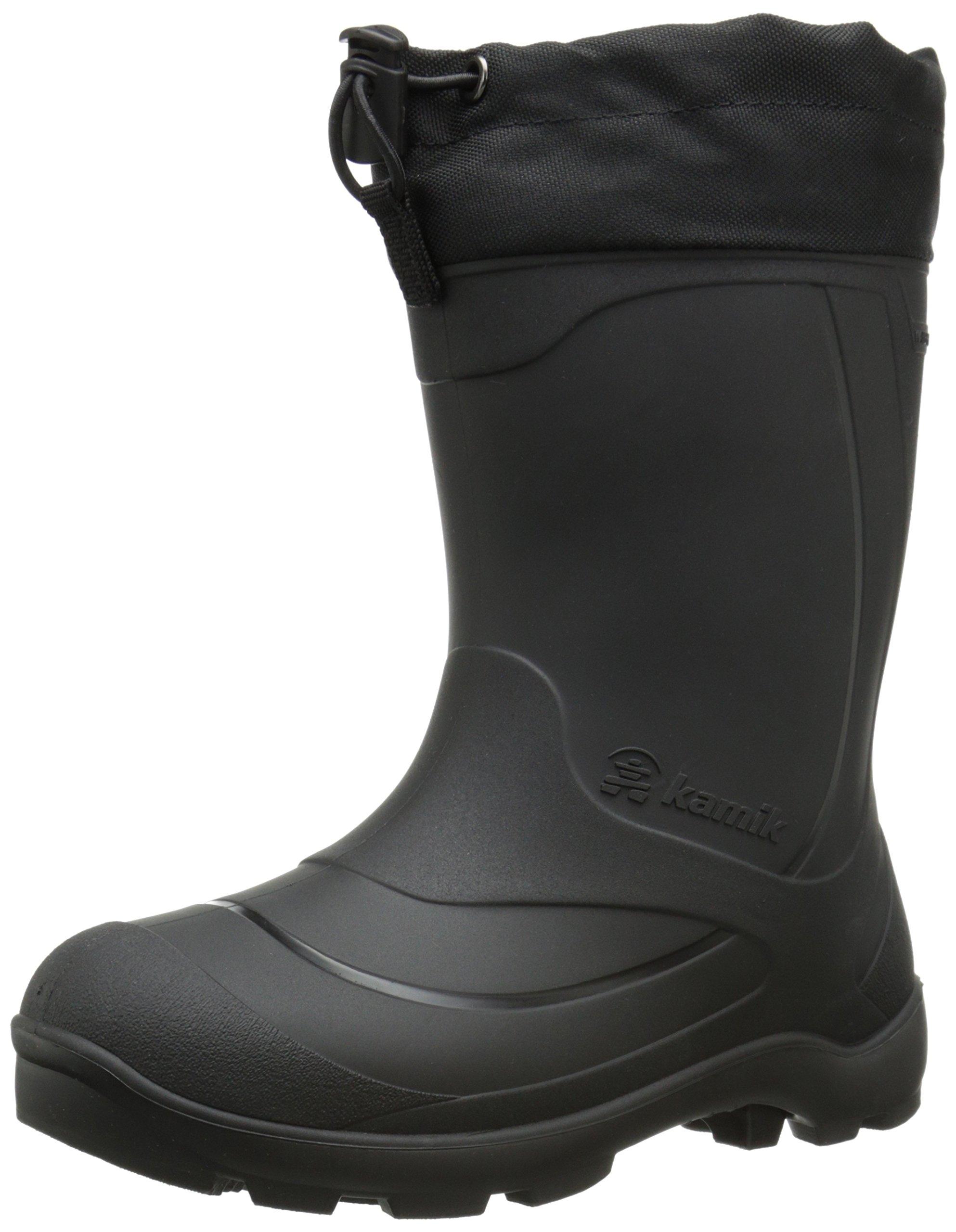 Kamik Snobuster1 Snow Boot (Toddler/Little Kid/Big Kid), Black, 1 M US Little Kid