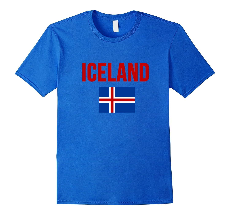 Iceland Flag Icelandic Pride T-Shirt - 3 Colors-BN