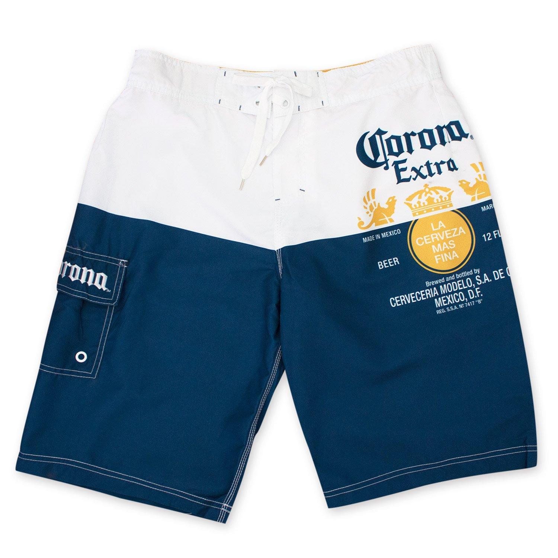 3dae9de467 Amazon.com: Corona Extra Label Mens Swim Board Shorts (XX-Large): Clothing