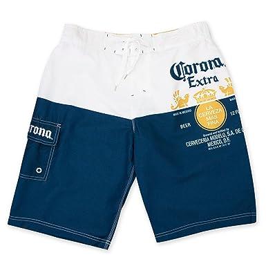77a8027b0c Amazon.com: Corona Extra Label Mens Swim Board Shorts (XX-Large ...