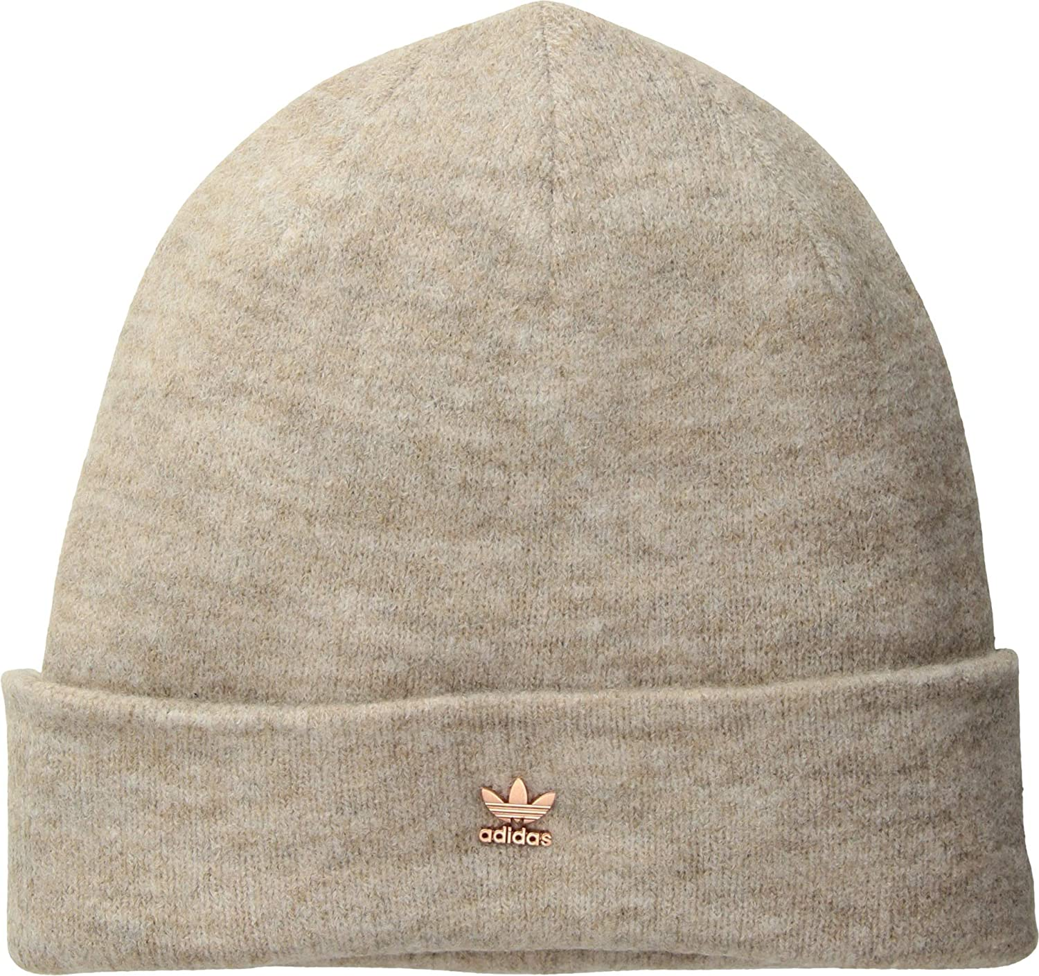 adidas Originals Women s Originals Fuzzy Beanie Grey Matte Silver One Size  at Amazon Women s Clothing store  ca89e5b41c77