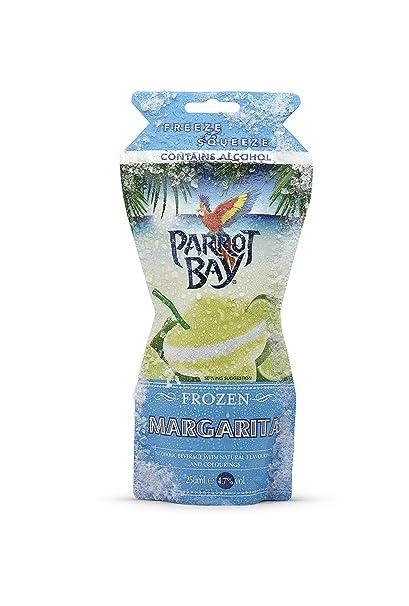 Parrot Bay Frozen Margarita Cocktail Bebida Alcohólica con Aromas Naturales - 250 ml