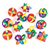 Neliblu Party Favors for Kids - Fun Puzzle Balls - Goody Bag Fillers - Treasure Box Prizes for Classroom, Carnival Prizes, Fi