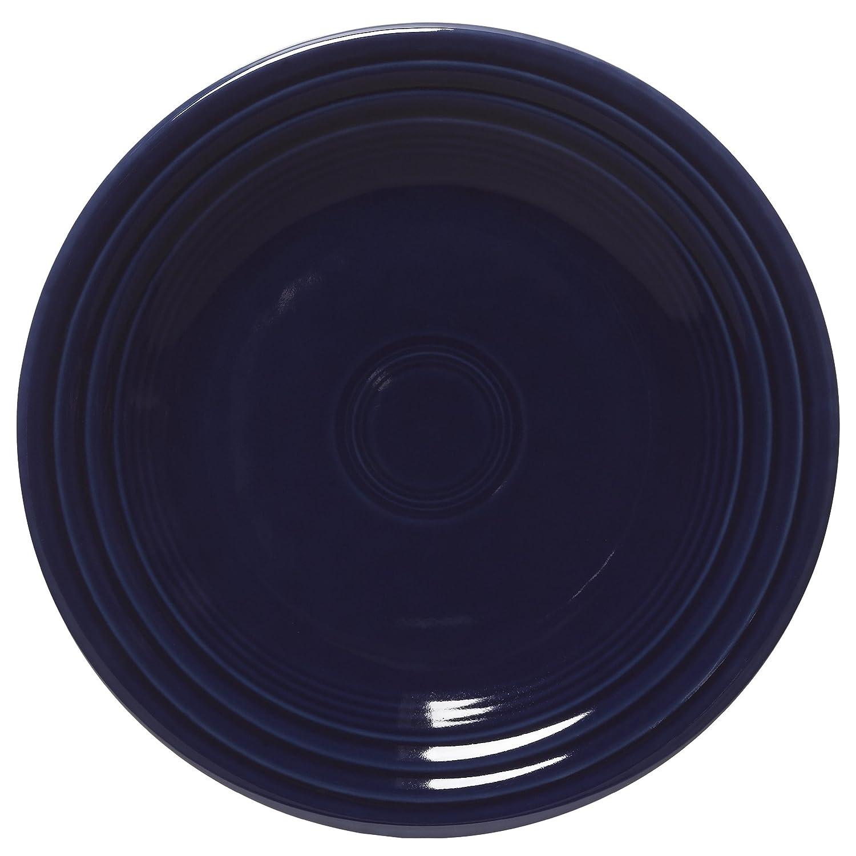 Fiesta 9-Inch Luncheon Plate, Cobalt by Homer Laughlin