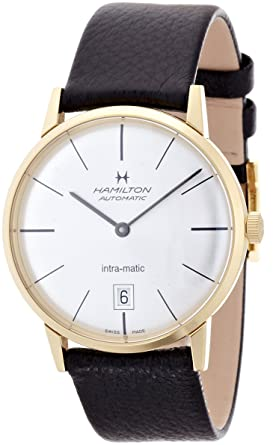 860d242f7 Image Unavailable. Image not available for. Color: Hamilton American  Classic Timeless Classic Intra-Matic 38MM Mens Watch