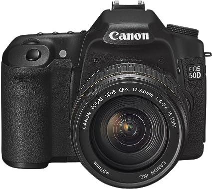 Canon EOS 50D - Cámara Réflex Digital 15.1 MP (Objetivo EF-S 17 ...