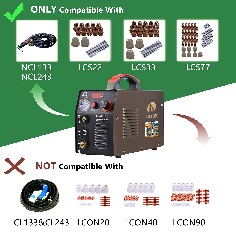 Amazon.com: Cortadora de plasma Lotos LT5000D, cortadora de ...