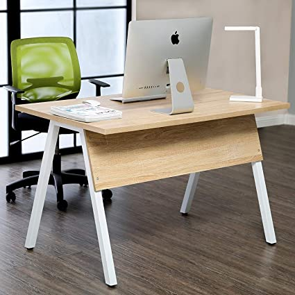 47u0026quot; Computer Desk Large Surface Office Desk Study Writing Desk Table  Workstation For Home Office