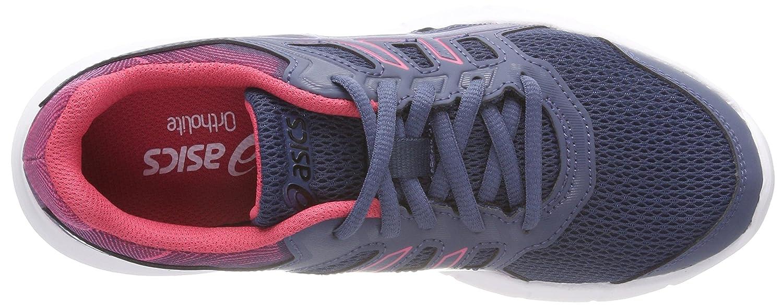 Asics Damen (Smoke Gel-Excite 5 Laufschuhe Mehrfarbig (Smoke Damen Blausmoke Blau Hot Pink) 44eef5