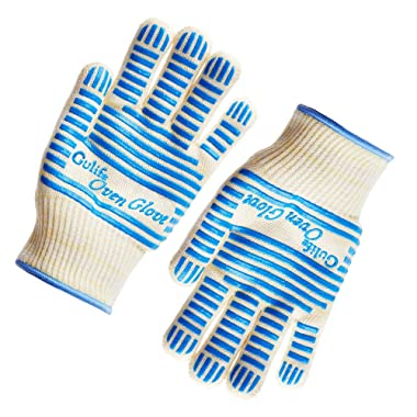 Gülife Oven Glove Withstands Heat Up to 662F Over 15S - EN407 Standard Level3,BBQ Glove (Gift Packaging, 1 Pair)