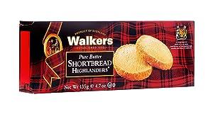 Walkers Shortbread Highlanders Cookies, 4.7 Ounces