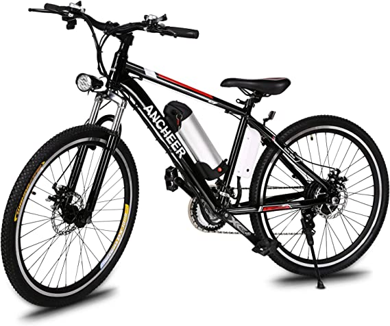 ANCHEER 500W/250W Electric Bike Adult Electric Mountain Bike