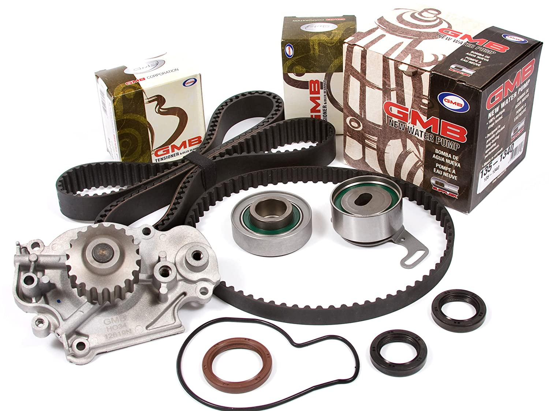 Evergreen Tbk216wp 92 96 Honda Prelude Si Se 23l H23a1 1992 Balancer Belt Timing Kit Gmb Water Pump Automotive