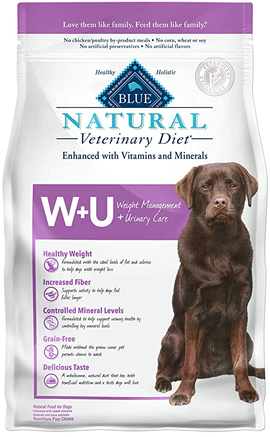 Blue Buffalo Natural Veterinary Diet Dog Food - Popular Food Choice for Dog's Urinary Care