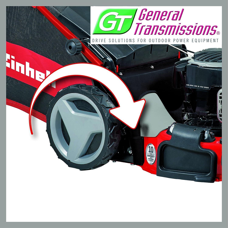 Einhell GE-PM 53 VS HW - Cortacésped de gasolina (2300 Vatios, altura de corte 6 niveles | 25-70 mm , ancho de corte 53 cm, hasta 1800m² de jardín, ...