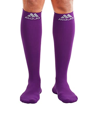 fc3cfef5080 Mojo Compression Socks - Comfortable Coolmax Material for Recovery    Performance. Medical Support Socks -