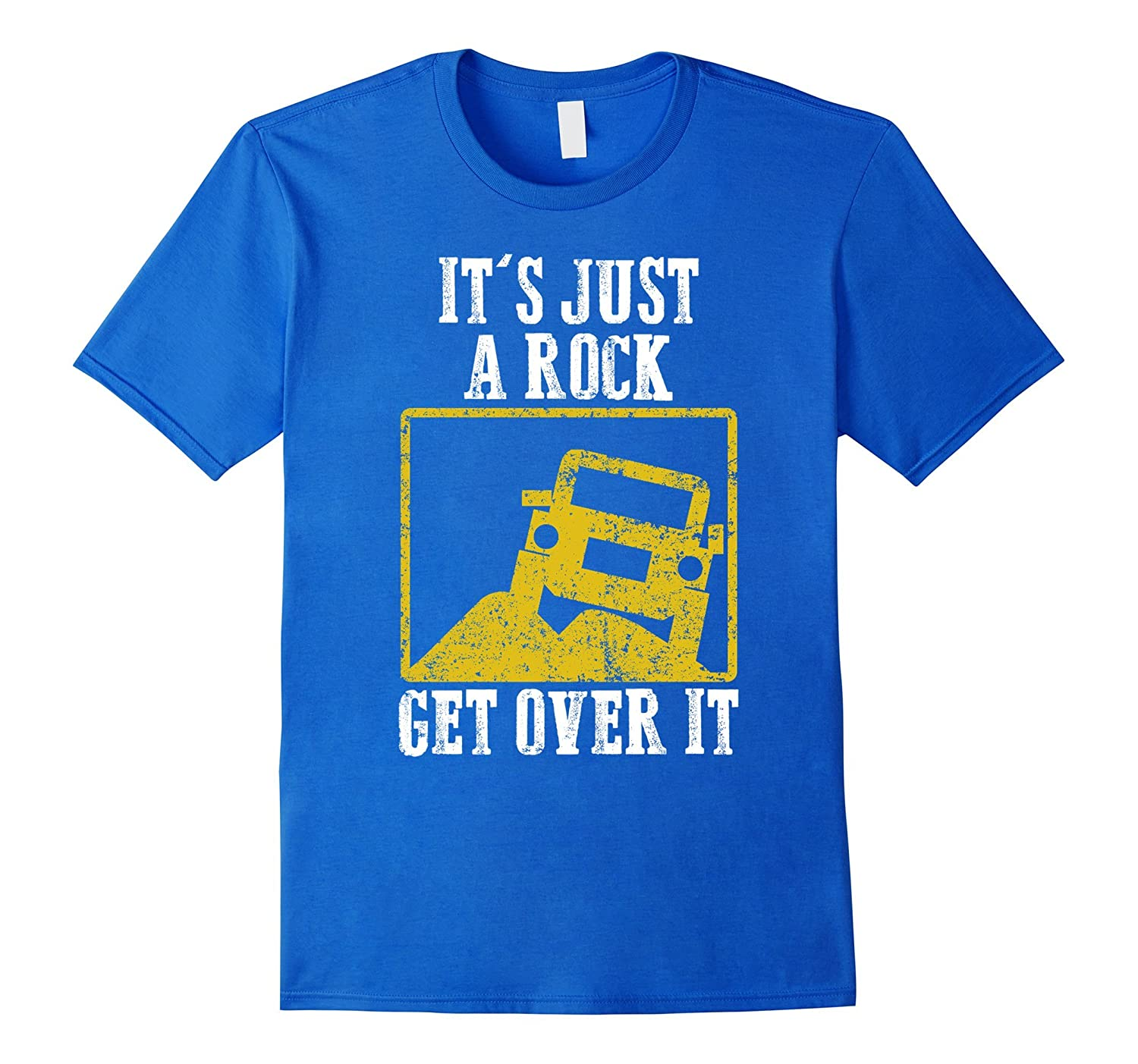 Its Just A Rock Get Over It Jeep Hair Dont Care Cute Shirt-TD