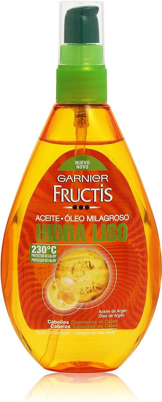 Garnier Fructis - Hidra Liso Tratamiento Capilar Aceite Pelo Liso, Rebelde o Difícil de Alisar - 150 ml