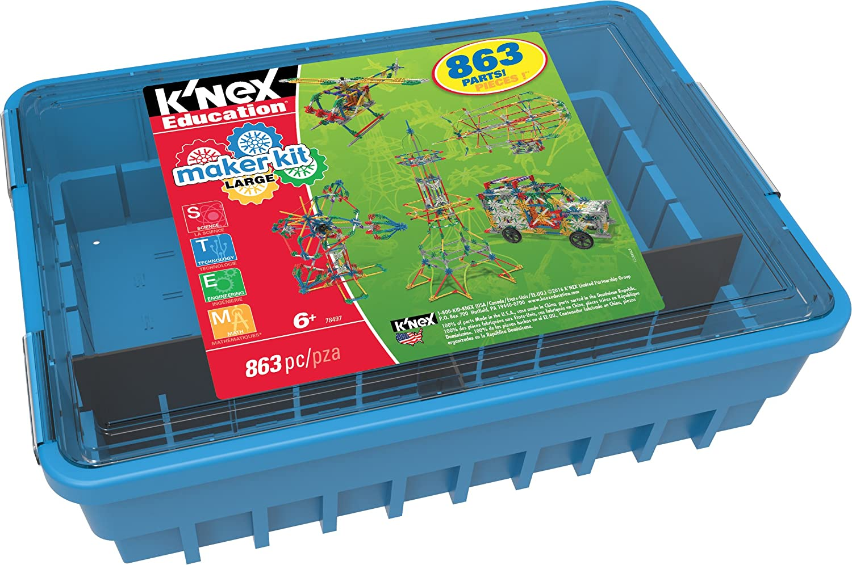 Amazon.com: K\'NEX Education Maker\'s Kit Large: Toys & Games