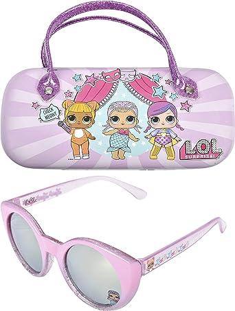 Trolls Kids Sunglasses for Girls Toddler Sunglasses with Kids Glasses Case