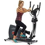 BH Quartz II bicicleta elíptica. Fitness Apps. 14 Kg sistema inercial. Negra. G2381iFD