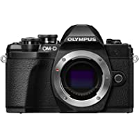 Olympus E-M10 Mark III 16MP 4K Ultra HD Wi-Fi Mirrorless Digital Camera Body (Black) - Manufacturer Refurbished