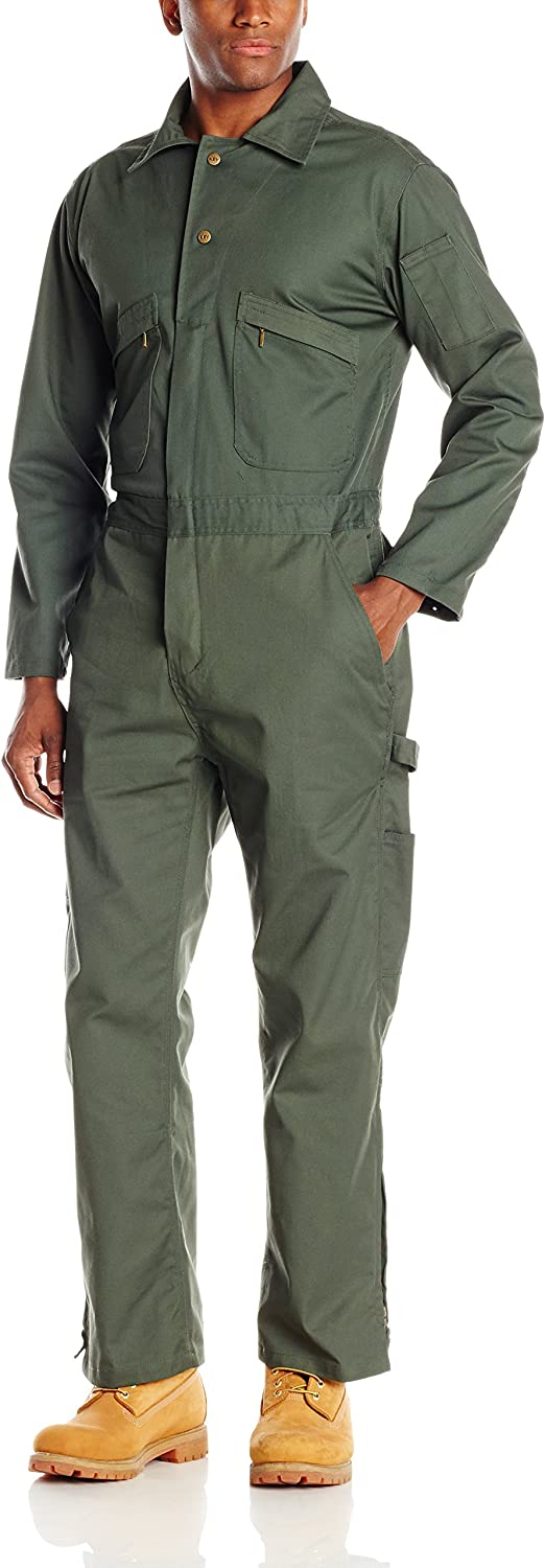 Key Apparel Long Sleeve Loden Green Unlined Coverall