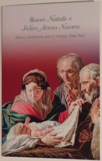 greeting card christmas italian australian 1 buon natale e felice anno nuovoquot - Merry Christmas In Italian Translation