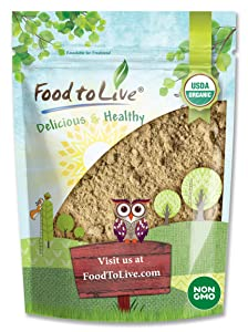 Organic Toasted Pumpkin Seeds Protein Powder, 1.5 Pounds - 60% Protein, Non-GMO, Pure, Plant Based,Vegan, Kosher, Bulk, Great for Baking, Drinks and Smoothies