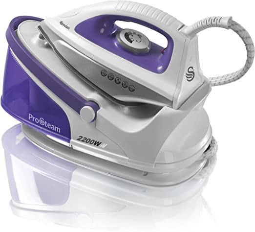 Swan Steam Generator Iron with Ceramic Soleplate - Variable Temperature Settings