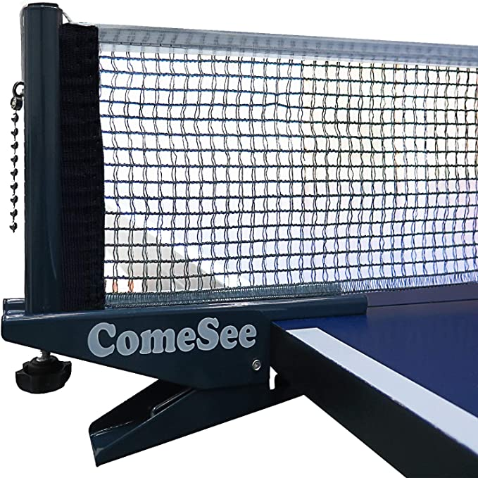 Portable Table Tennis Ping Pong Net Post Clamp Stand Holder Mesh Rack